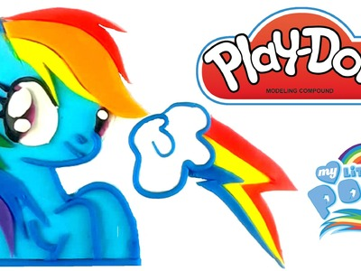 Play Doh Rainbow Dash How To Make MLP Playdough My Little Pony Mi Pequeño Pony Arcoíris Plastilina