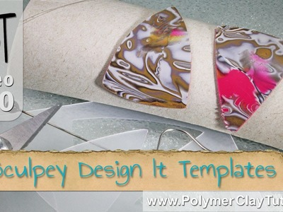 Polymer Clay Sculpey Design It Templates