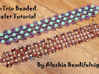 RounTrio Beaded Bracelet Tutorial