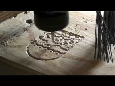 Small souvenirs carving with home made CNC router.