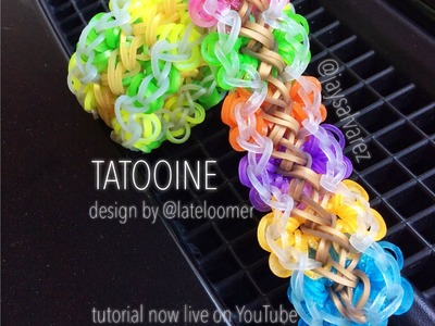 TATOOINE loom tutorial by @jaysalvarez for ILOVEHUESHOP