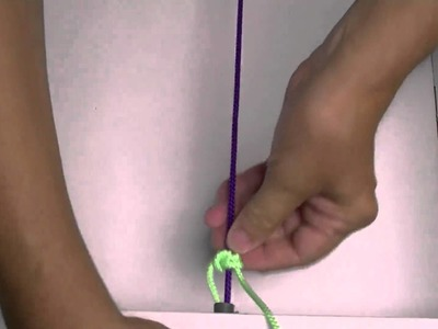 Tennis knot tutorial
