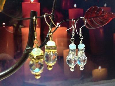 (Tutorial) Stunning Crystal Earrings (Video 98)