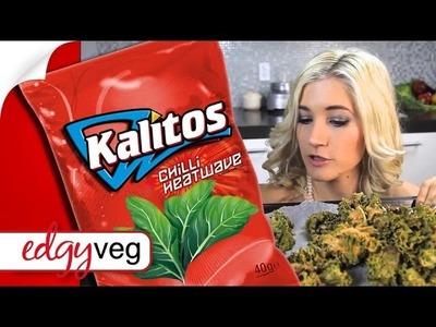 Vegan Kale Chip Doritos Recipe | The Edgy Veg