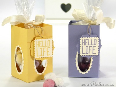 Window Easter Egg Box Tutorial