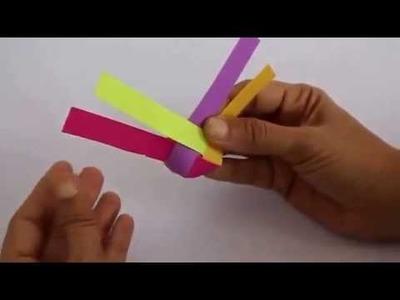 Woven Ball | Hindi | Fun with Paper