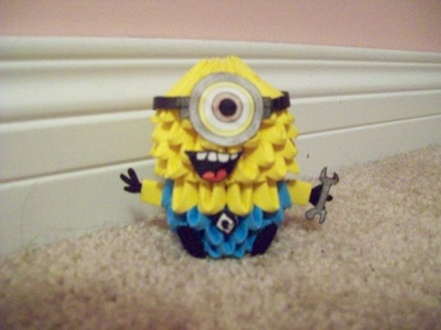 3D Origami: Despicable Me Minion Tutorial