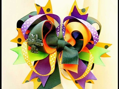 And the winner is . . (Stacked hairbow giveaway)