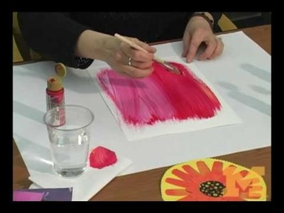 Art Therapy:  Make your own gerbera daisy
