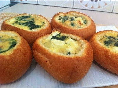 BAKED CHEESE ROLLS - VIDEO RECIPE