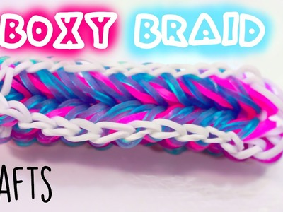 Boxy Braid Bracelet | Rainbow Loom Tutorial