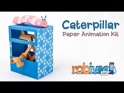 Caterpillar: Paper Animation to Download and Make