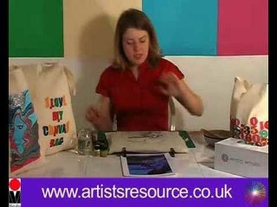 Decorate your Re-usable Shopping Bag- Fabric Painting Project - Art and Craft