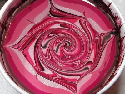 Devils & Angel Water Marble Nail Art Tutorial