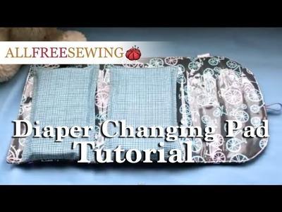 Diaper Changing Pad Tutorial
