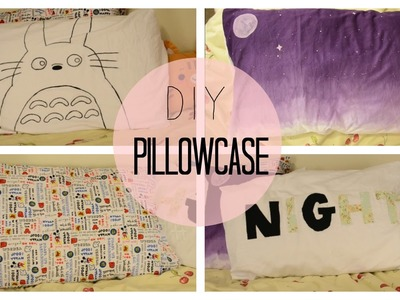 ✂ DIY Custom Pillow Cases