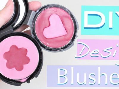 DIY Design Blushes!  ♡ Heart & Flower ❀