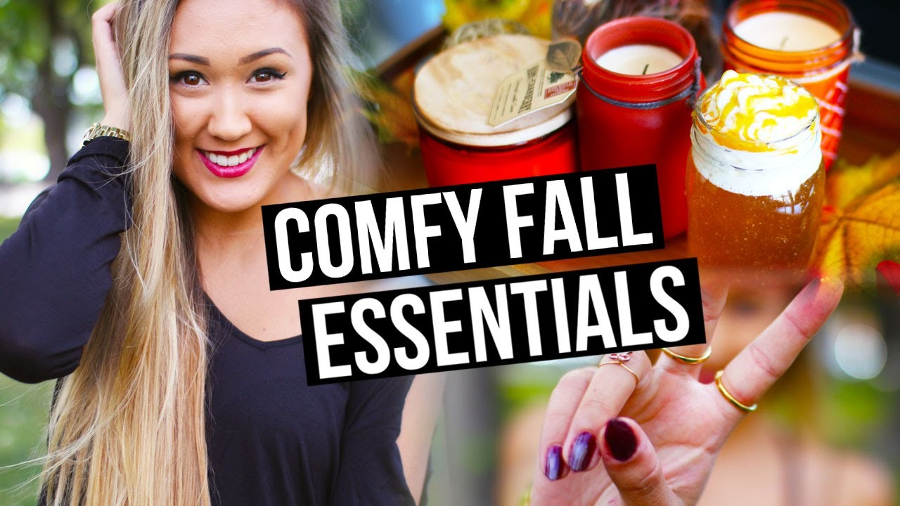 DIY Fall Essentials + How to Be Comfy in Fall! | LaurDIY