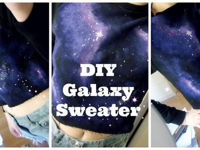 DIY Galaxy Sweater
