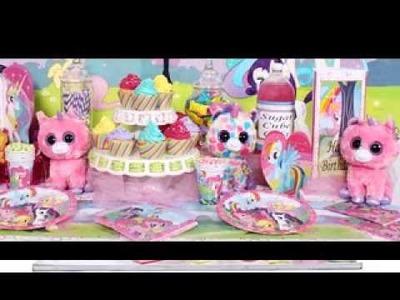 DIY My little pony birthday party decorating ideas