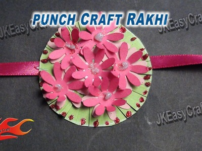 DIY Paper Rakhi for Raksha Bandhan | How to make |JK Easy Craft for kids 029