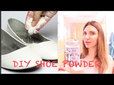 DIY Shoe MAGIC Powder and Lemon Deodorant!!! Fresh All Day Long!