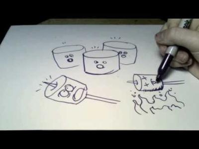 Doodling the Imponderables: cruel fate
