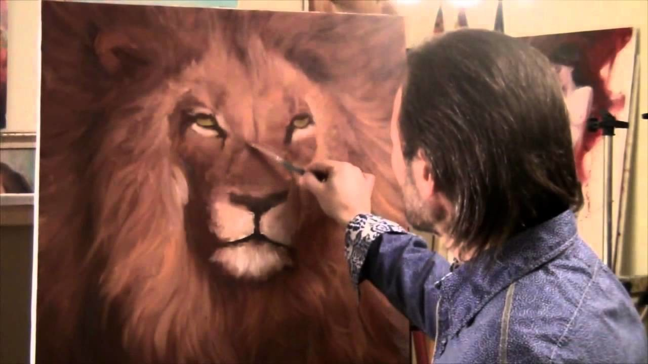 "FREE! English subtitles! Full version of ""How to draw a lion"" Igor Saharov"