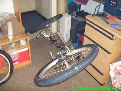 Home Built Recumbent Trike. Detailed plans and construction Steps.