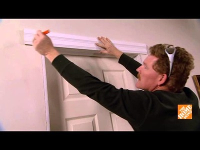 Home Depot: How to Install Door Trim