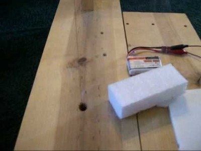 Home made hot wire cutter