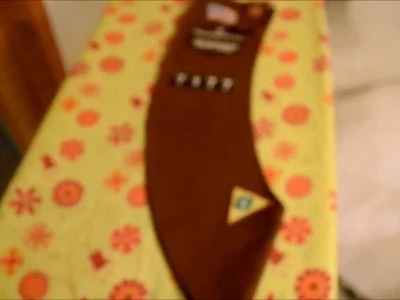 How To Attach Merit Patches On a Brownie Sash Girl Scouts