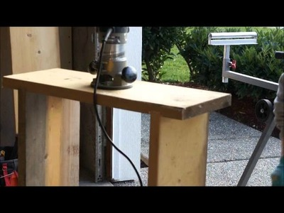How to build a homemade router table (Part 2)