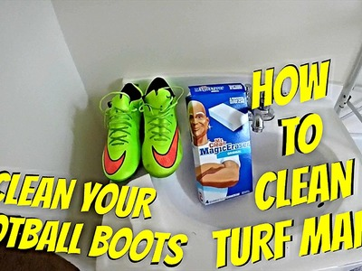 How To Clean Soccer Cleats | Clean Turf Marks Off Your Football Boots. Mercurial Vapor X
