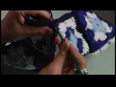 How to Crochet a Bag : Crochet: Corner of Base, Face & Side