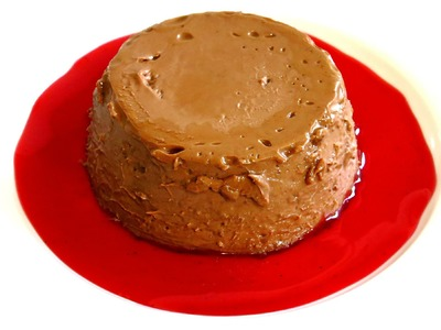 HOW TO MAKE A CHOCOLATE PANNA COTTA