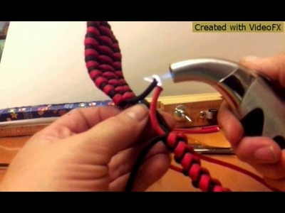 How to make a cobra snake out of paracord Part 2