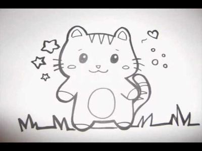 How To Make a Cute Kitty Doodle