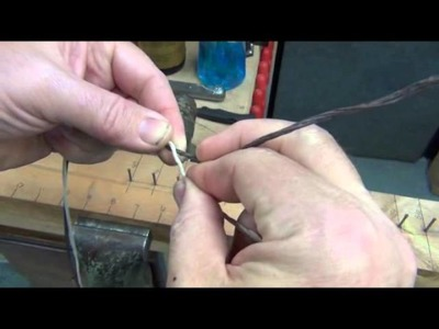 How to make a Flemish twist bow string part 1.wmv