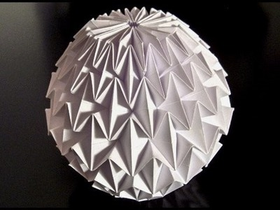 How to make an Origami Magic Ball