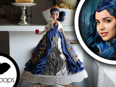 How to make Disneys Descendants: Evie Doll Cake