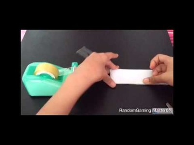 How to make Naruto Headband using paper