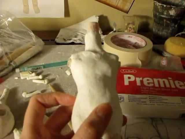 Making a Ball Jointed Doll Part 2: The Body