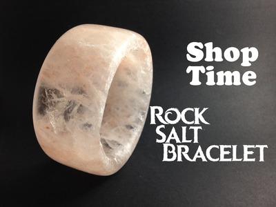 Making A Salt Plate Into A Bracelet