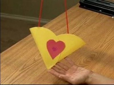 Making Valentine's Day Crafts for Kids : How to Make a Valentine's Day Tote Bag for Kids