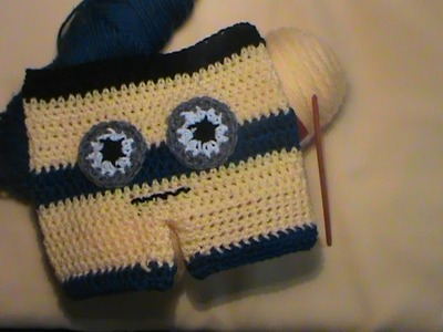 """""""Minion-Inspired Baby Shorts. 0-3 Months"""""""