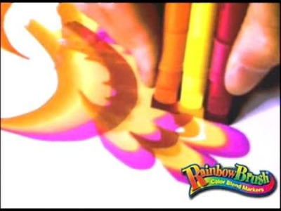 New Rainbow Brush Art Set - As Seen On TV
