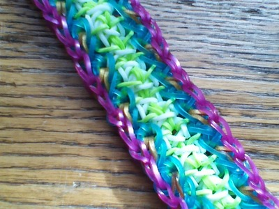 NEW Rainbow Loom Cynthia Bracelet