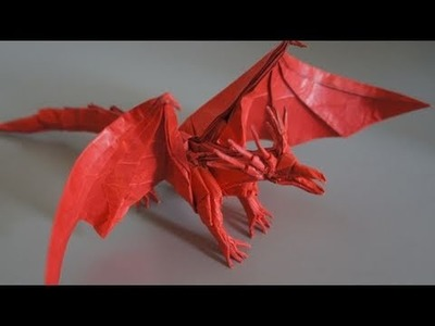 Origami Giveaway #4 - Ancient Dragon (Satoshi Kamiya)