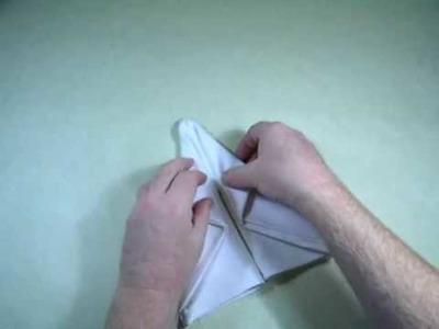 Origami Napkin Boot